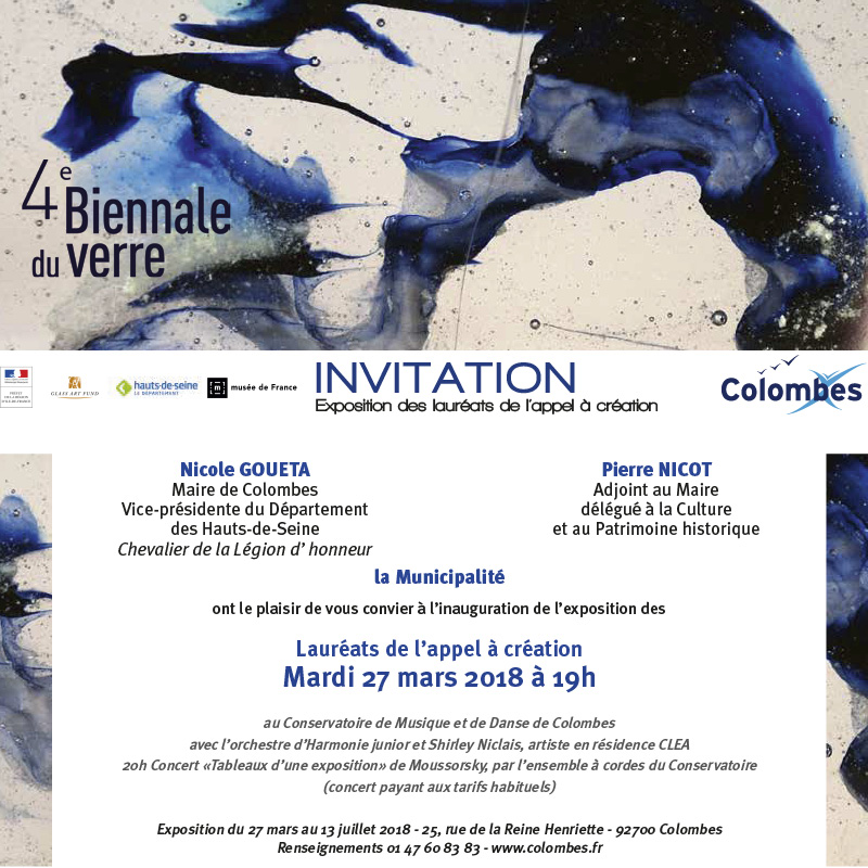 invitation vernissage biennal conservatoire
